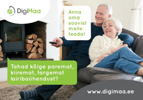 DigiMaa kiire internet - lairiba ühendus